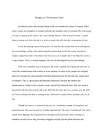 the secretary chant essay