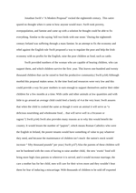 a rhetorical analysis of a modest proposal an essay by