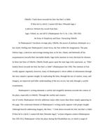 Desdemona and emilia essays