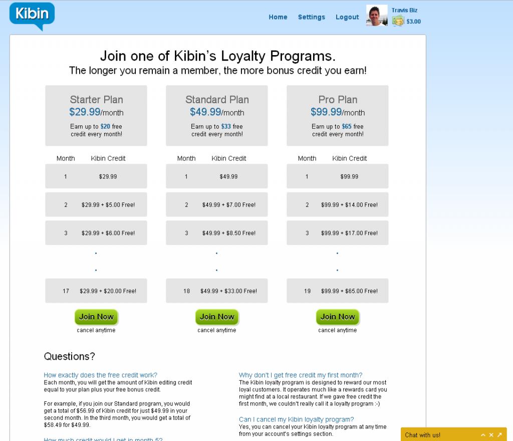 kibin-loyalty-program