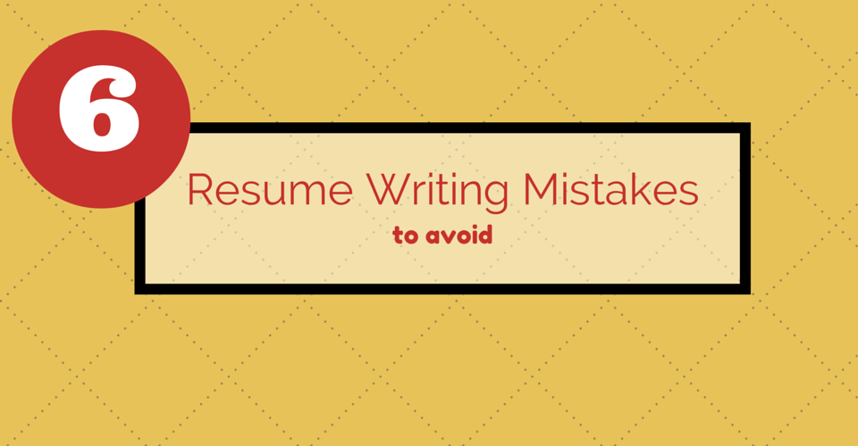 High Quality Resume Tips: 6 Resume Writing Mistakes To Avoid   Kibin Blog