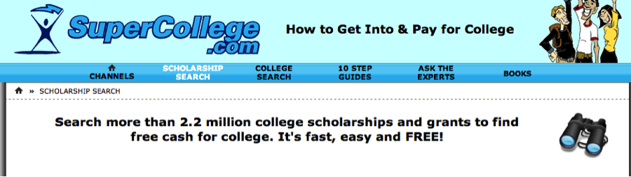 No essay scholarships for college students 2014