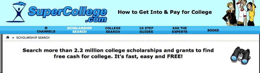 no essays scholarships