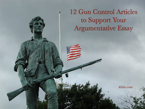 gun control and regulation essay Gun control essay gun control there have been a lot of discussions about the topic of gun control for past couple of months there have been many controversies about whether or not there should be stricter laws and regulations regarding gun control.