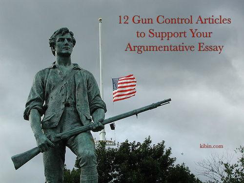 Gun Control Essay Outline Writing