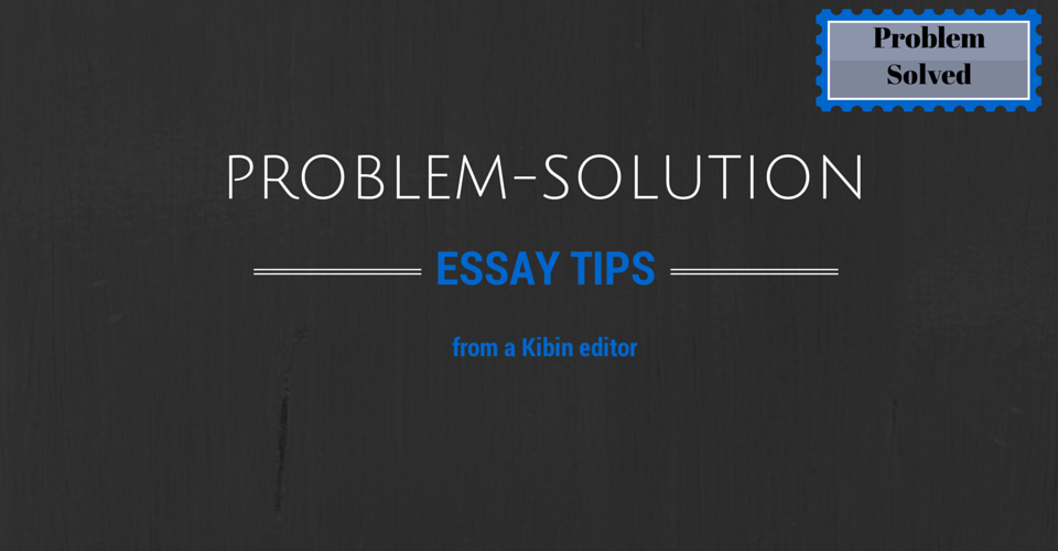 rubrics for problem solution essay