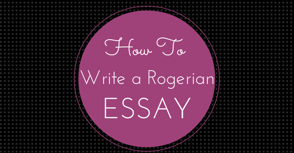 How To Write A Rogerian Essay With Help From Roger Rabbit