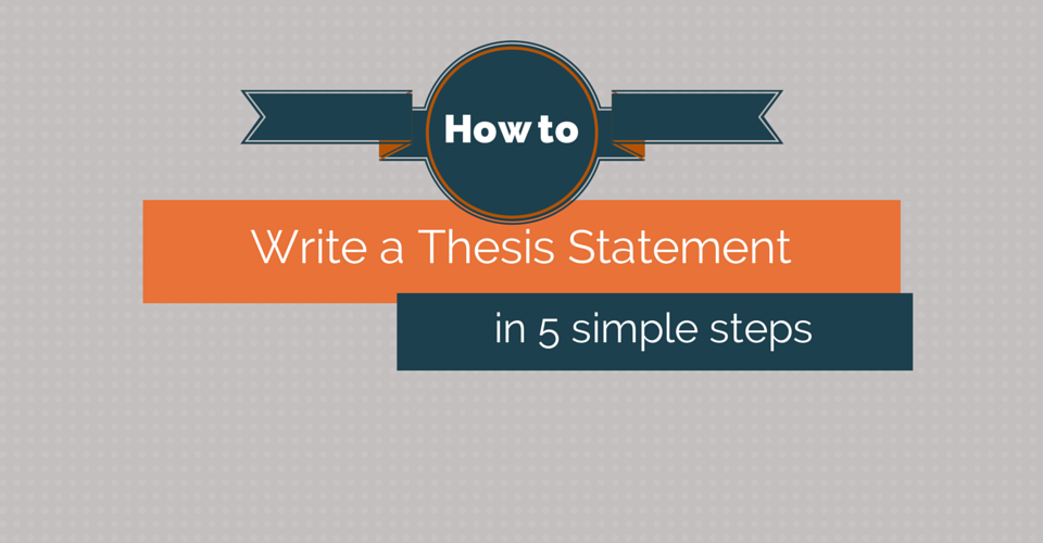 steps thesis statement