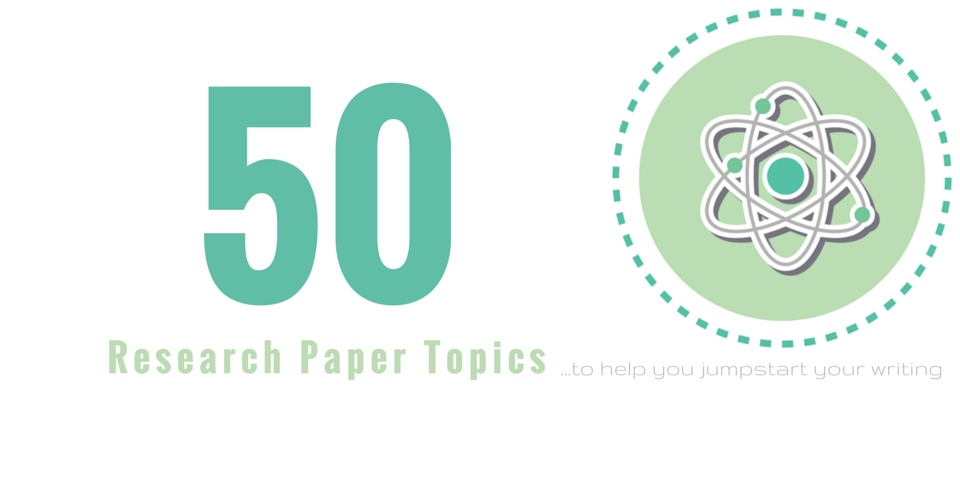 research paper health topics