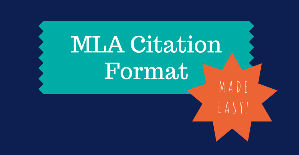 mla citation format made easy  infographic