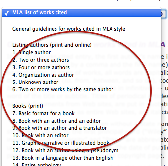 How to write mla citations without going crazy screen shot 2014 12 18 at 23357 pm 3 ccuart