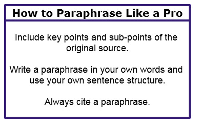 10 Examples of Paraphrasing for a Smarter, Better Essay