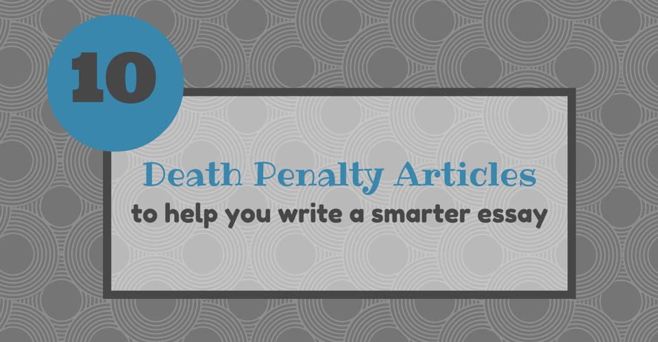 catchy death penalty titles