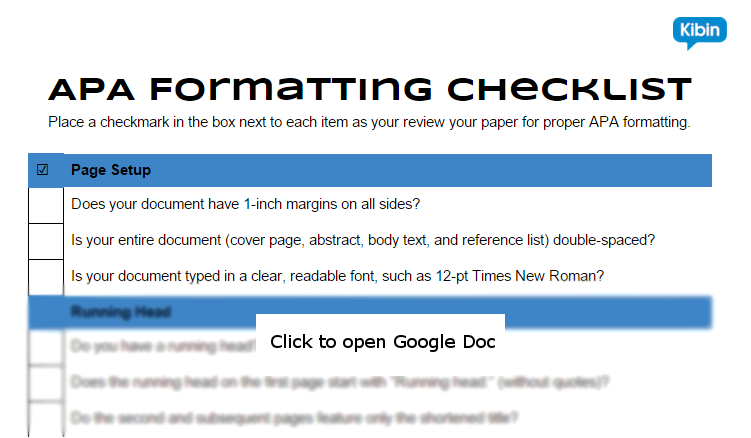 apa paper formatting This tutorial provides step-by-step instructions on how to format apa papers  using word if you need any further assistance, please don't.