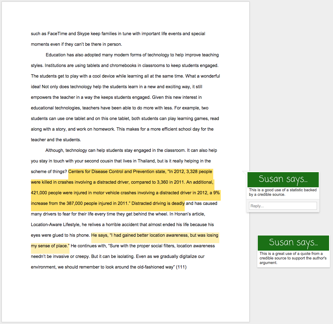 Cause and affect essay