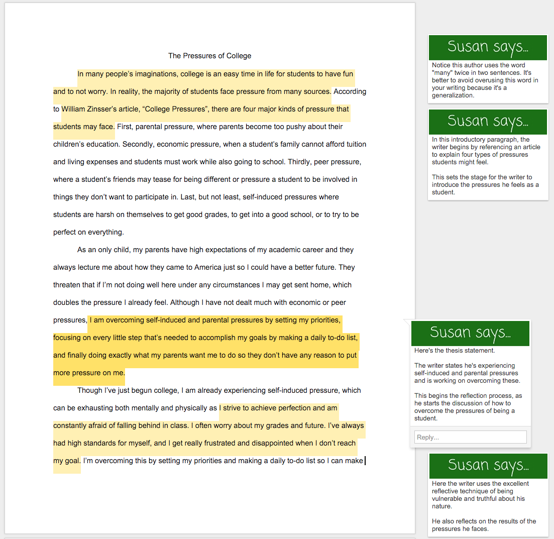 Common application essay help york times