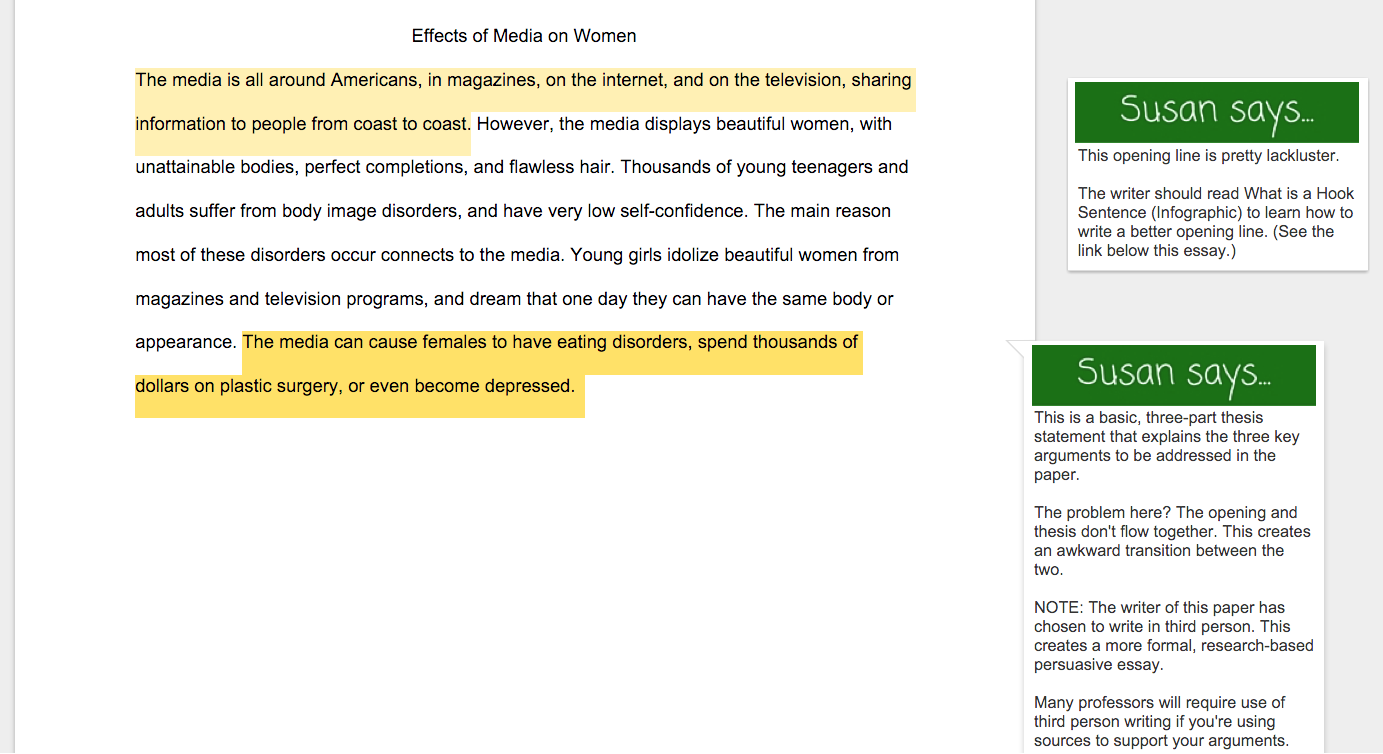 Sexism in society essay