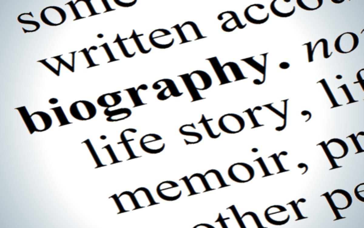 Writing a biographical essay