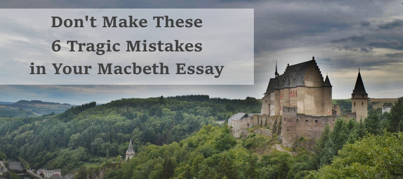 macbeth 6 essay Gauravi gawade 6 march 2016 macbeth essay manhood written in the early 16th century and set in scotland during the 11th century, the fall of the protagonist in.