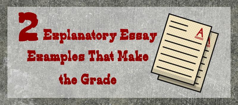 Explanatory essay example