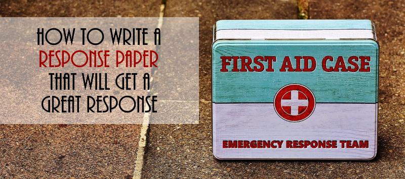 How to write a good application essay response