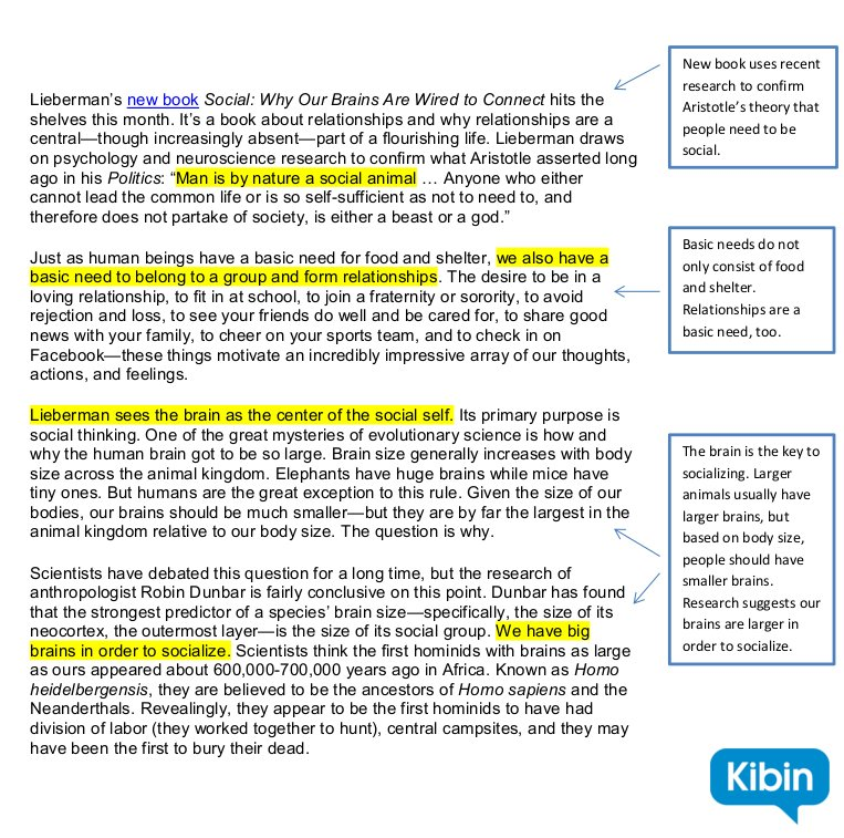 how to annotate a text  and why it u0026 39 s helpful   u2013 kibin blog