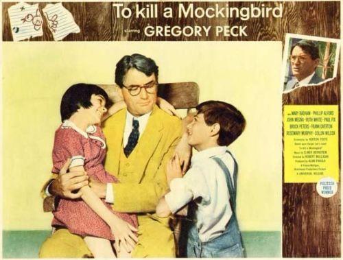 to kill a mockingbird vintage film advertisement