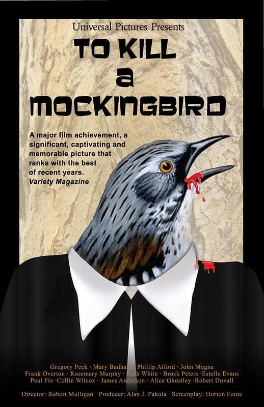 to kill a mockingbird film poster